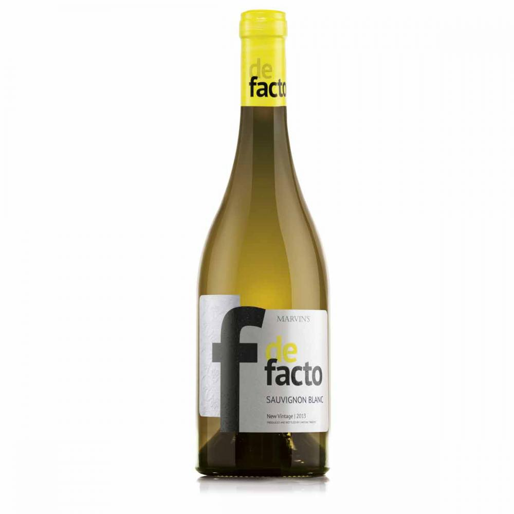 Бяло вино Де Факто Совиньон Блан / 0,750 л.