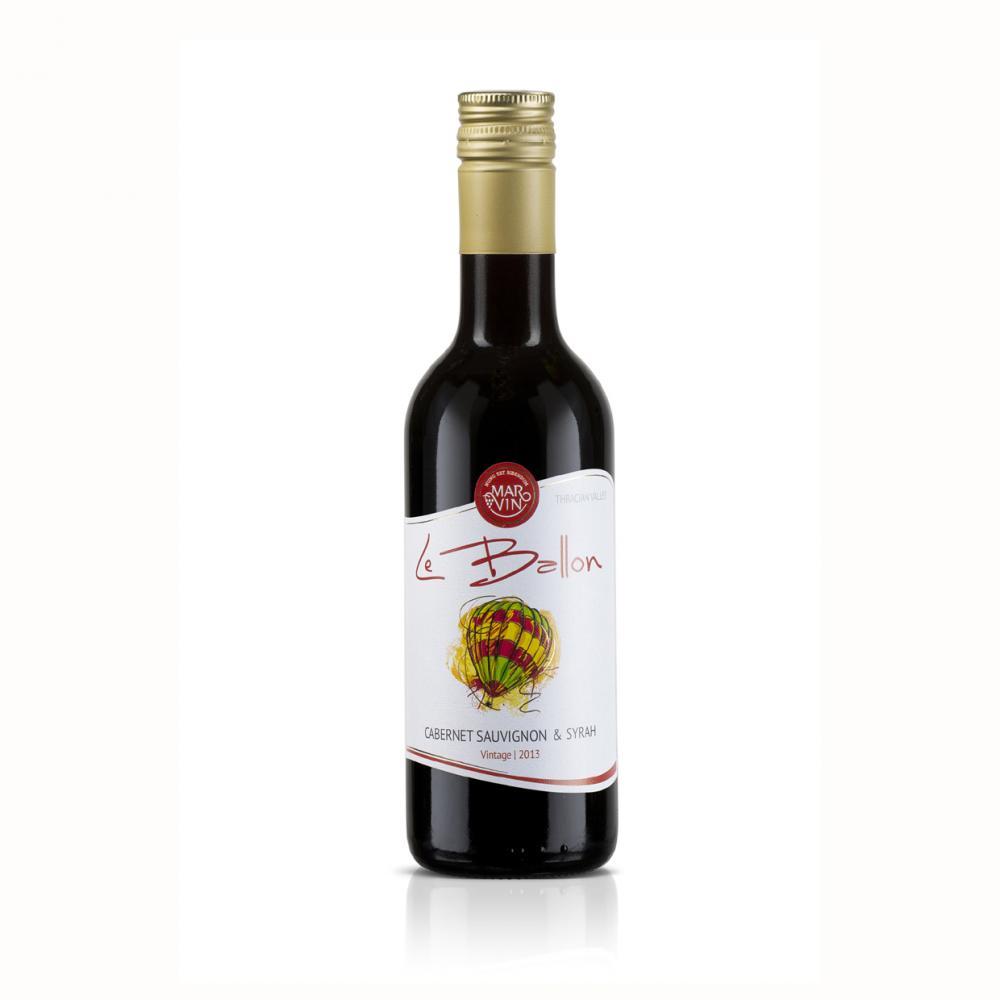 Червено вино Ле Балон Каберне Совиньон & Сира / 0,250 л.