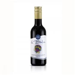 Червено вино Ле Балон Каберне Совиньон & Мерло / 0,250 л.