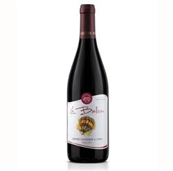 Червено вино Ле Балон Каберне Совиньон & Сира / 0,750 л.